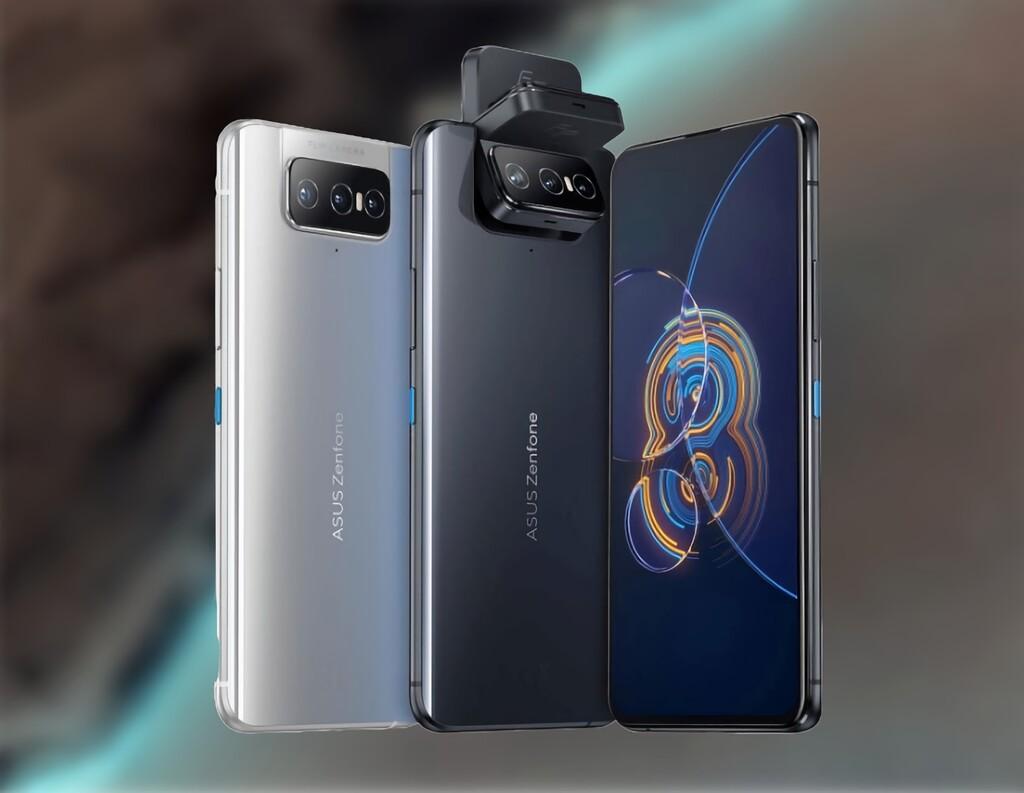ASUS Zenfone 8 Flip: cámara rotatoria triple y batería de 5.000 mAh para un gama alta tan original como potente