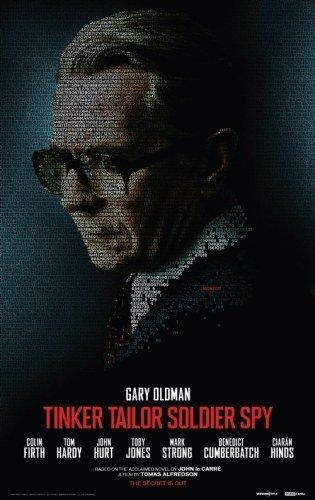 'El topo' con Gary Oldman, Colin Firth y Tom Hardy, cartel