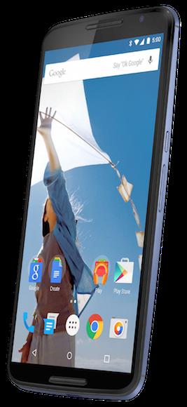 El nuevo Nexus 6 aparece en una imagen oficial gracias a Evleaks
