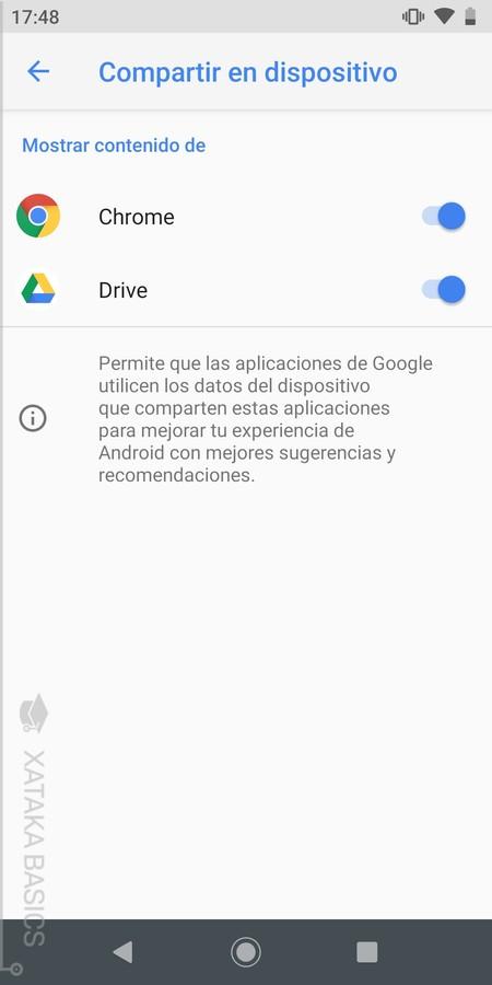 Otras Opciones Google