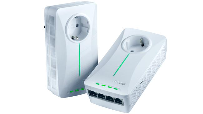 ASUS PL-X52P, un adaptador ethernet powerline de cuatro puertos