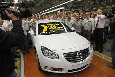 Opel Insignia 500.000 en Russelsheim