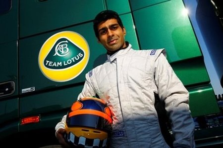 GP de Australia F1 2011: Karun Chandhok con Team Lotus en la primera sesión de entrenamientos libres