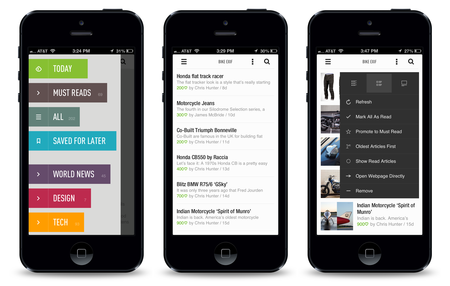 Feedly Productive Reading Iphone