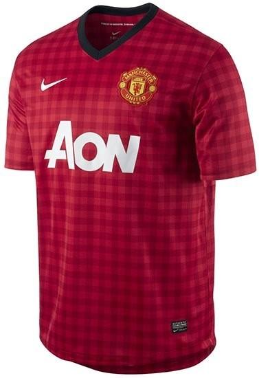 Manchester United y su original zamarra