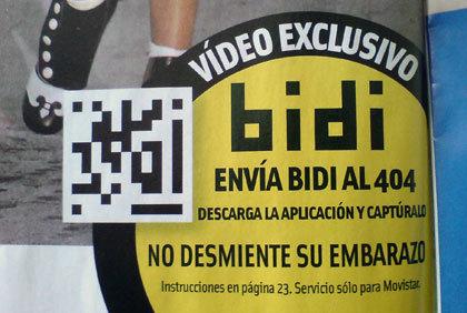 Los códigos bidi se extienden en las revistas