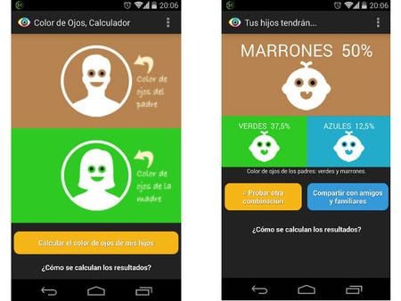 """""""Color de Ojos del Bebé"""": una aplicación Android para saber el color de ojos que tendrá tu bebé"""