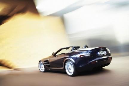 Mercedes-Benz SLR McLaren Roadster, las fotos oficiales