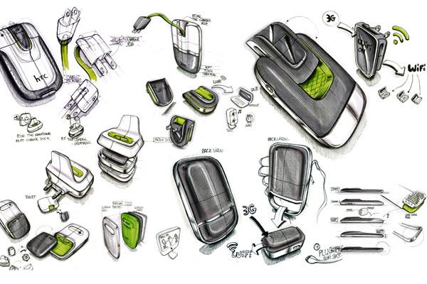 Foto de Concepto de enchufe integrado en el móvil (5/7)