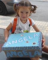 """La foto de tu bebé: Angela empieza el cole """"de mayores"""""""