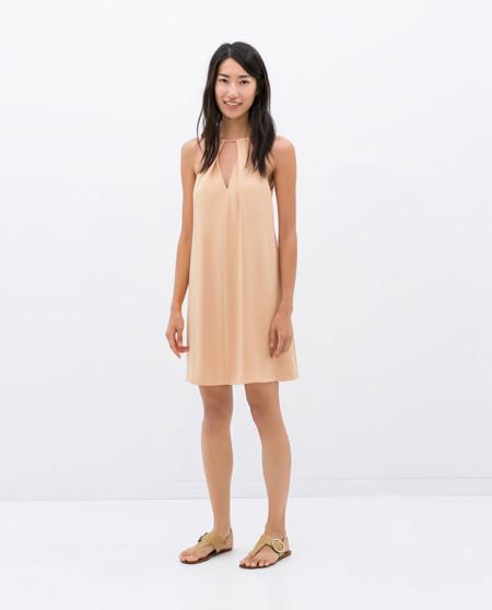 Beige Vestido de Zara