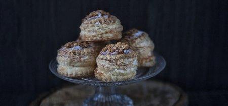 Esta receta de hojaldres de almendras te hará quedar como un experto repostero sin apenas esfuerzo