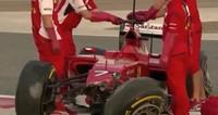 Así fue el accidente de Kimi Räikkönen en el Circuito de Sakhir