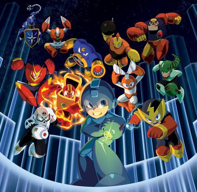 La soluci n para resucitar a mega man rescatar sus for Megaman 9 portada