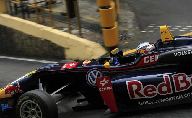 Carlos Sainz Jr Macao 2012