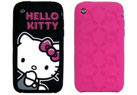 Carcasa de Hello Kitty para el iPhone