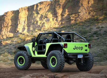 Jeep Trailcat Concept trasera