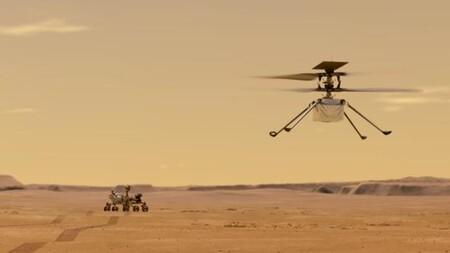 Ahora puedes contemplar el helicóptero Ingenuity de la NASA sobrevolar Marte en 3D