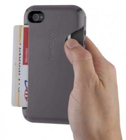 Guarda tus tarjetas en la funda del iPhone
