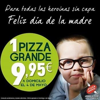 Pizza Móvil también tiene promoción especial para el Día de la Madre