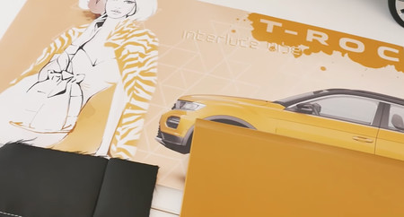 El Volkswagen T-Roc muestra su apariencia final y las curiosas herramientas de un diseñador de autos