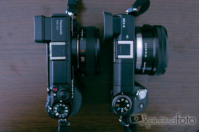 Lumix GX7 vs Sony NEX-6