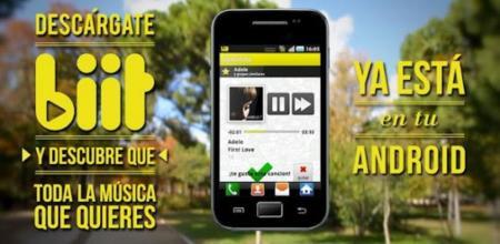 biit ya está disponible en el Android Market para predecir tus gustos musicales