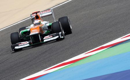 Paul di Resta Bahréin 2012