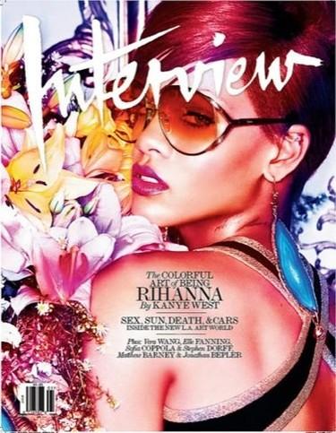 Rihanna en la portada de Interview
