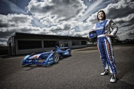 Katherine Legge, primera mujer en la Fórmula E