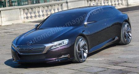 Citroën DS9 Concept al descubierto
