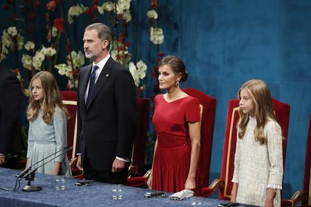Los Reyes La Princesa Leonor Y La Infanta Sofia