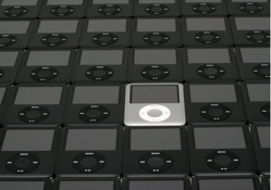 Fotos de un ejército de 40 iPods nano