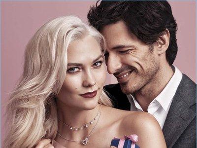 Andrés Velencoso y Karlie Kloss protagonizan la campaña de San Valentín de Swarovski