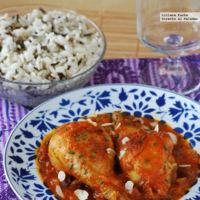 Receta de pollo al estilo persa