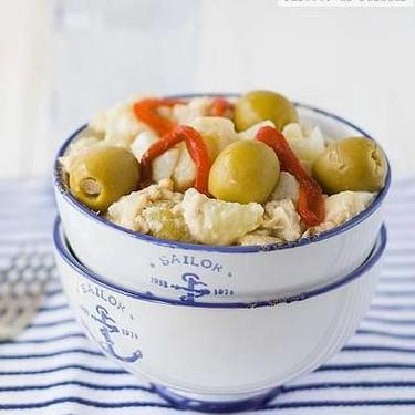 Ensalada de patata y bonito, receta de verano