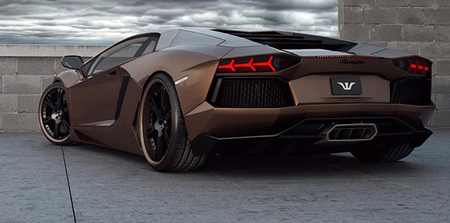 Lamborghini Aventador Chocolate LP777-4 por Wheelsandmore