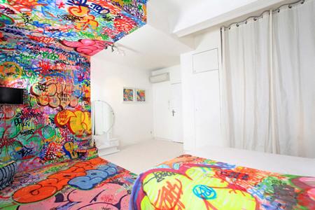 habitación graffiti