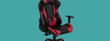 Si buscas silla gaming, ojo a ese modelo en color rojo y negro a mínimo histórico en Amazon