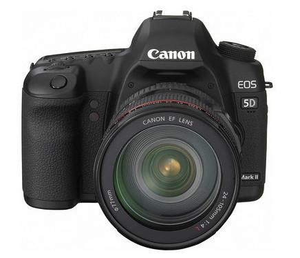 Grabación de vídeo con control manual de la exposición para la Canon 5D Mark II