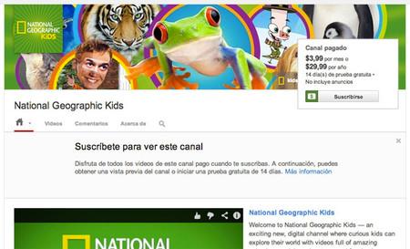 YouTube estrena sus canales de pago