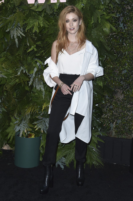 max mara vanity fair red carpet Katherine Mcnamara