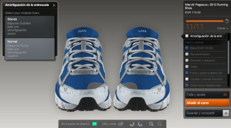 Crea tu propia zapatilla con NikeiD