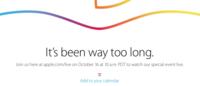 Apple habilita el seguimiento en directo para el evento del próximo 16 de octubre