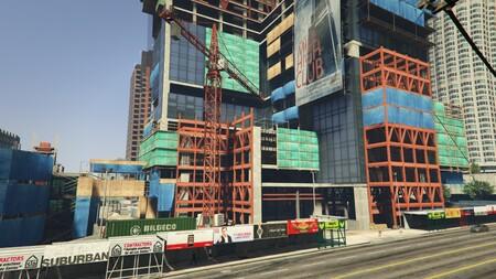 Un grupo de modders de GTA V se ha puesto manos a la obra y terminará la construcción del edificio Mile-High Club de Los Santos