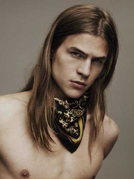 Versace Scarves Campaign 003