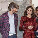 La reina Letizia escoge un vestido midi repleto de tendencia para acudir a la inauguración de ARCO 2020