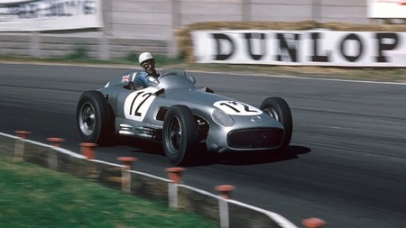 Stirling Moss Mercedes F1