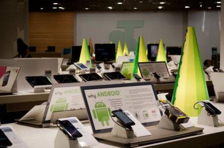 La imagen de la semana: Androidland, la primera tienda sobre Android