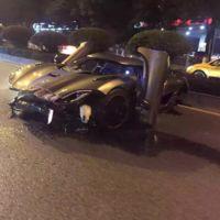 Dolorpasión™: Koenigsegg Agera R chocado en China